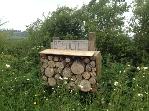 Solitary Bee Hotel, Bee Sanctuary - Ruskin Mill