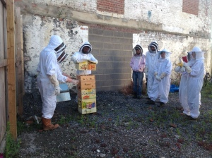 Community Beehive at Grow Bristol